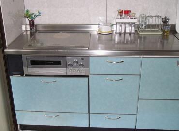 愛知県名古屋市S様邸 システムキッチン取付工事