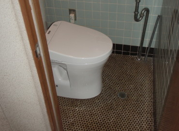 岐阜県海津市O様邸 節水トイレ取替え工事