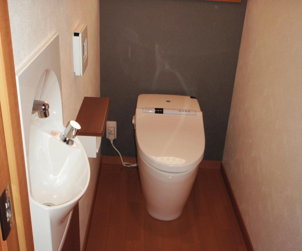 三重県桑名市 新たにトイレ設置工事後