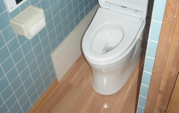 岐阜県海津市D様邸 節水トイレ取替工事