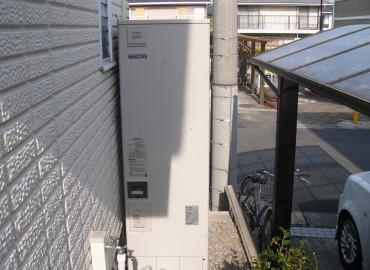 愛知県S様邸 エコキュート設置工事