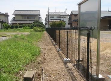 田鶴コミュニティ会館 フェンス取替工事
