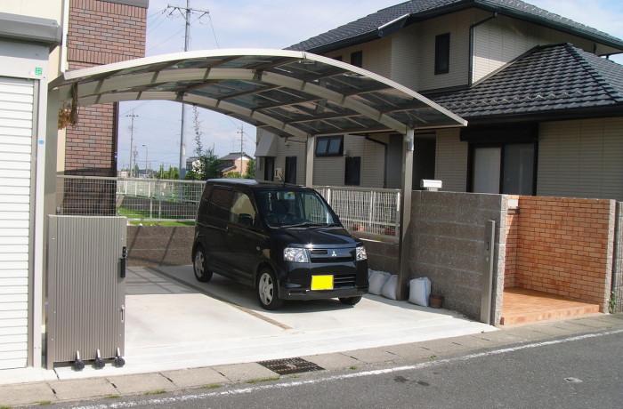 岐阜県羽島市M様邸 カーポート新設工事