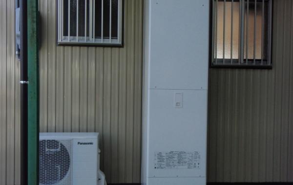三重県K様邸 エコキュート460L設置工事