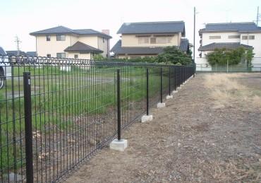 コミュニティ会館 フェンス取替工事 完成しました。
