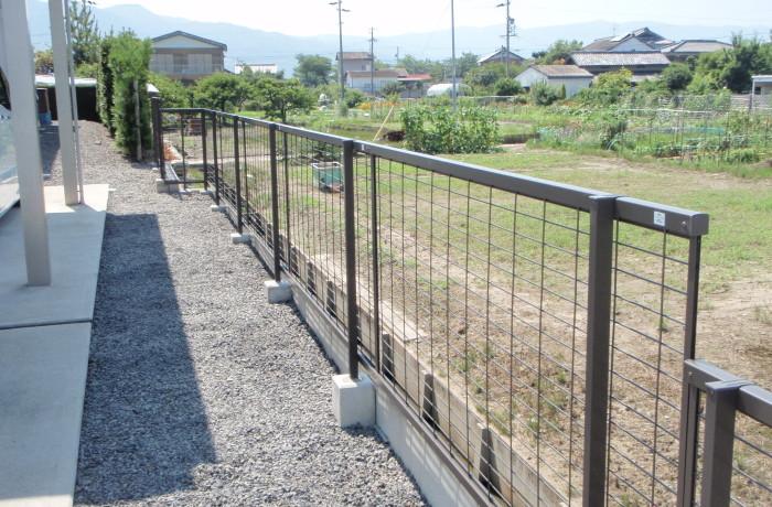 N様邸 フェンス設置工事
